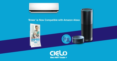 Breez is Now Compatible with Amazon Alexa