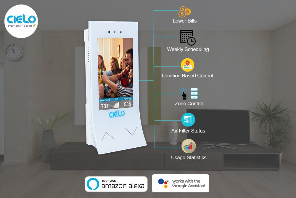 Cielo Breez- The Next Generation Smart Controller for Any Brand Ductless Air-conditioners