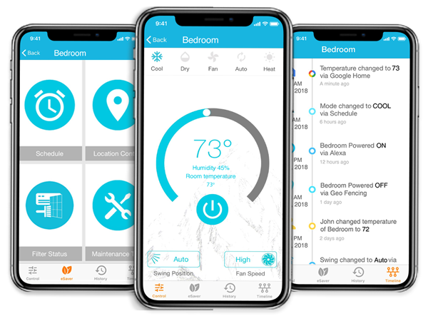 control your air conditioner with cielo home app