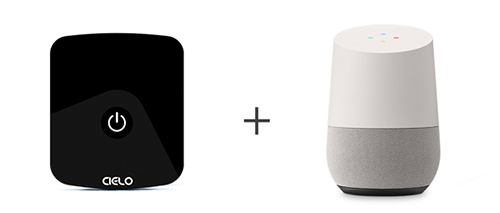 Cielo Breez Eco work with the Google Home