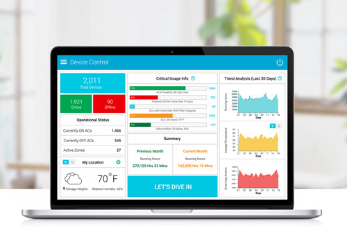 Manage & Control multiple connected ACs from your desktop