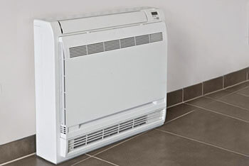 Control Free Standing Fan Coil Unit with cielo smart controller