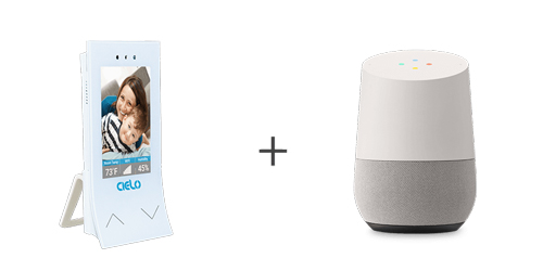 Cielo Breez work with the Google Home