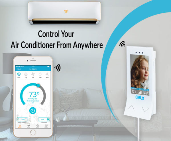 control your ac from anywhere with cielo breez