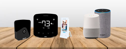 Smart air conditioning with Amazon Alexa & the Google Home