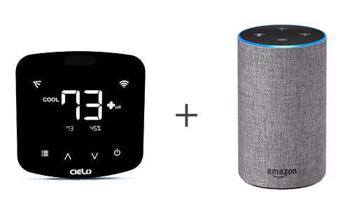 Cielo Breez Plus work with Amazon Alexa