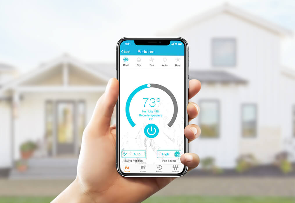 Cielo Breez - Control your air conditioners and heat pumps through your phone from anywhere anytime.