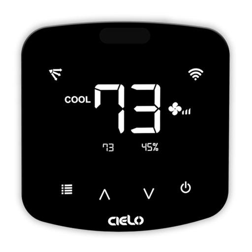 Cielo Breez Plus smart wifi air conditioner with local controls