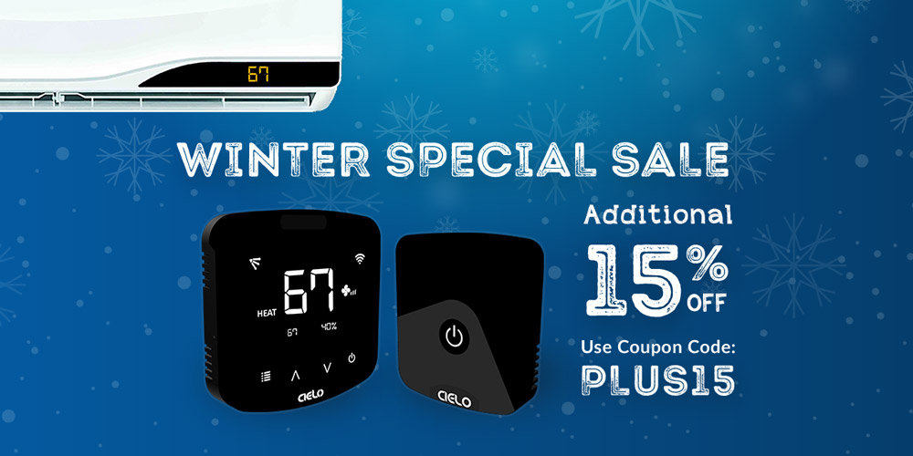 Winter Special Sale - cielo breez offering additional 15% off