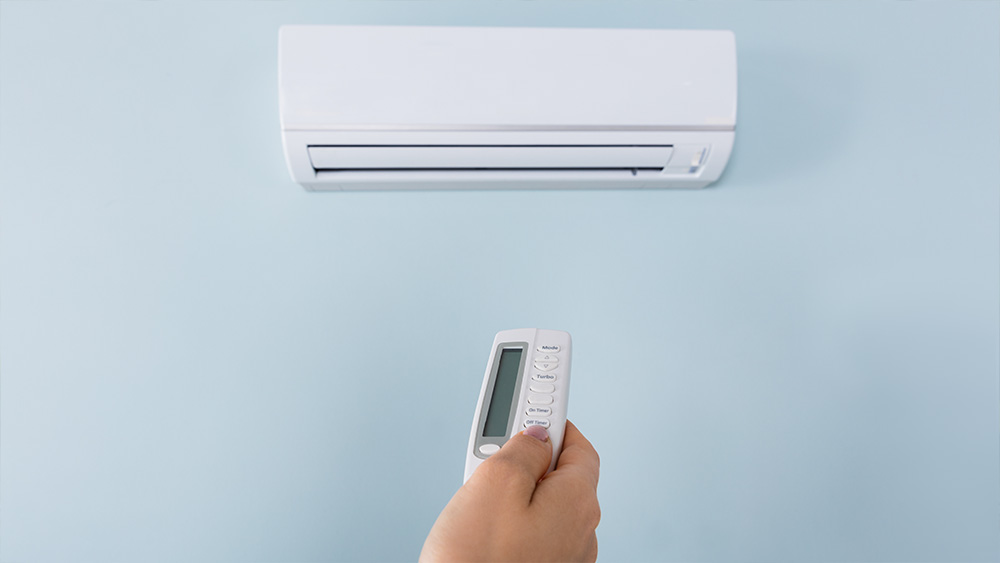 Keep the temperature low to save money on AC