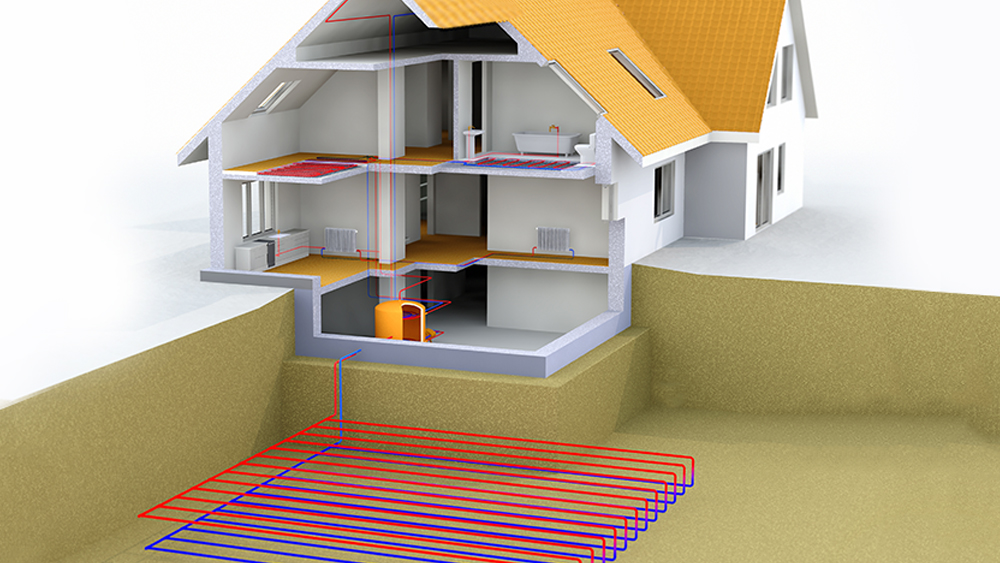Geothermal Air Conditioning System