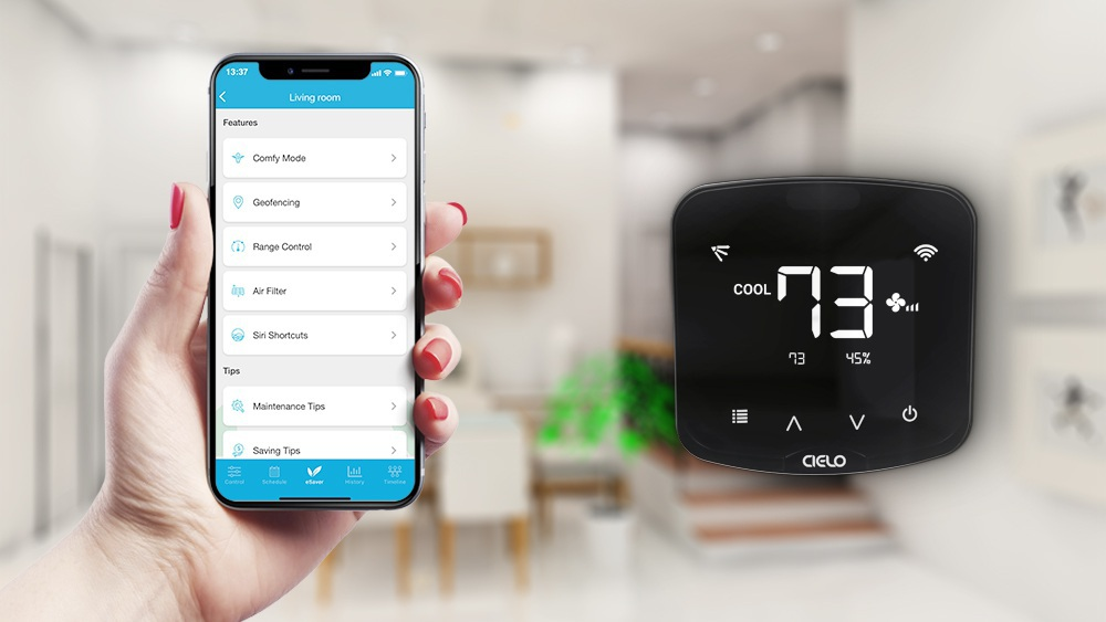 Benefits of smart thermostats for mini splits.