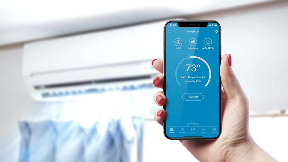 Smart thermostats for mini splits for automated cooling