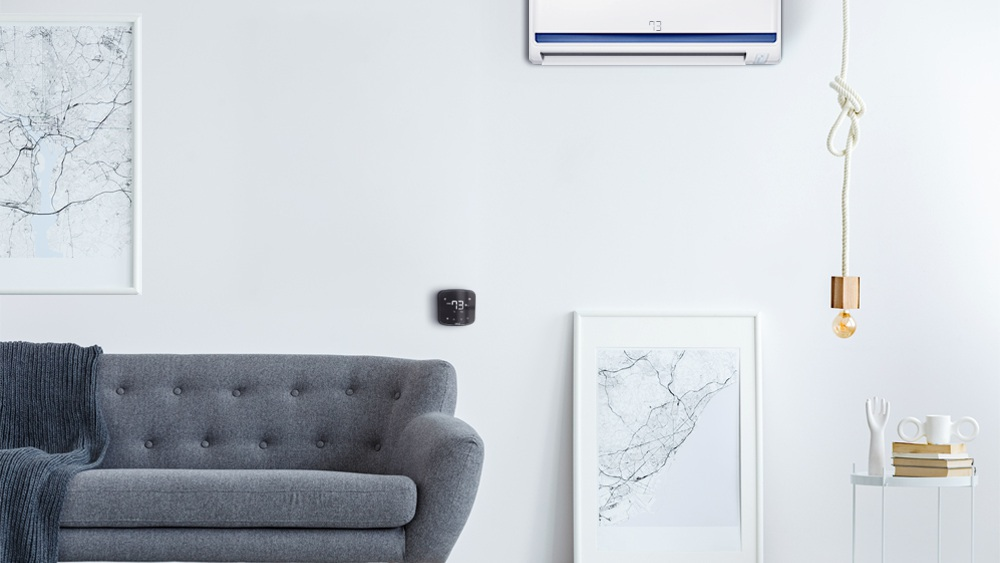 Get automated cooling through Cielo Breez thermostat like smart AC controllers.