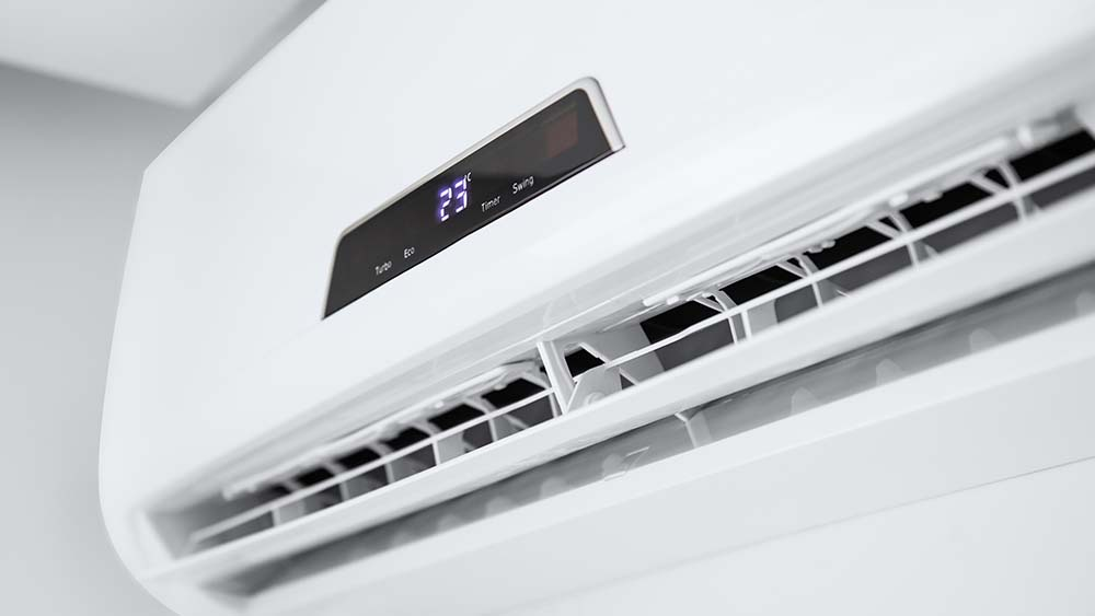 Use air conditioners to control  home humidity level