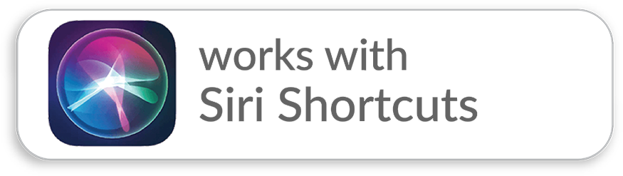 SiriShortcuts
