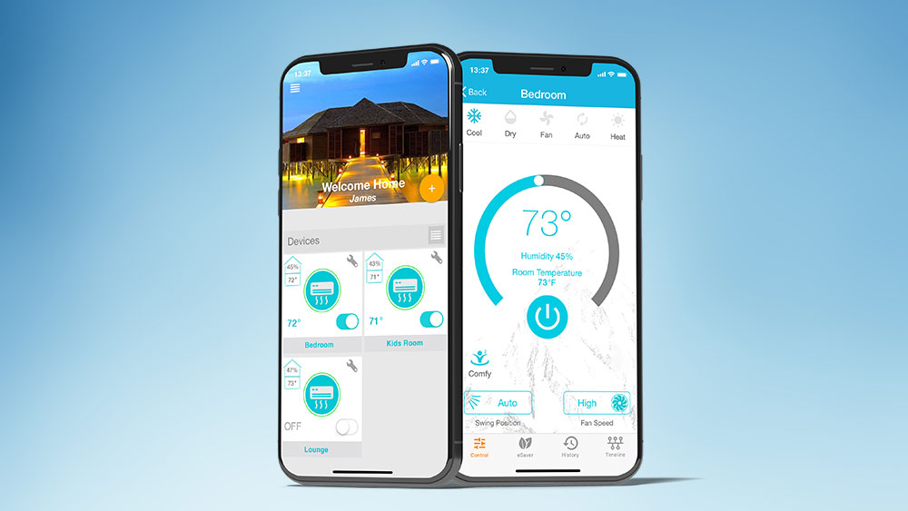 Control air conditioner with phone, how to control air conditioner with android phone for global control