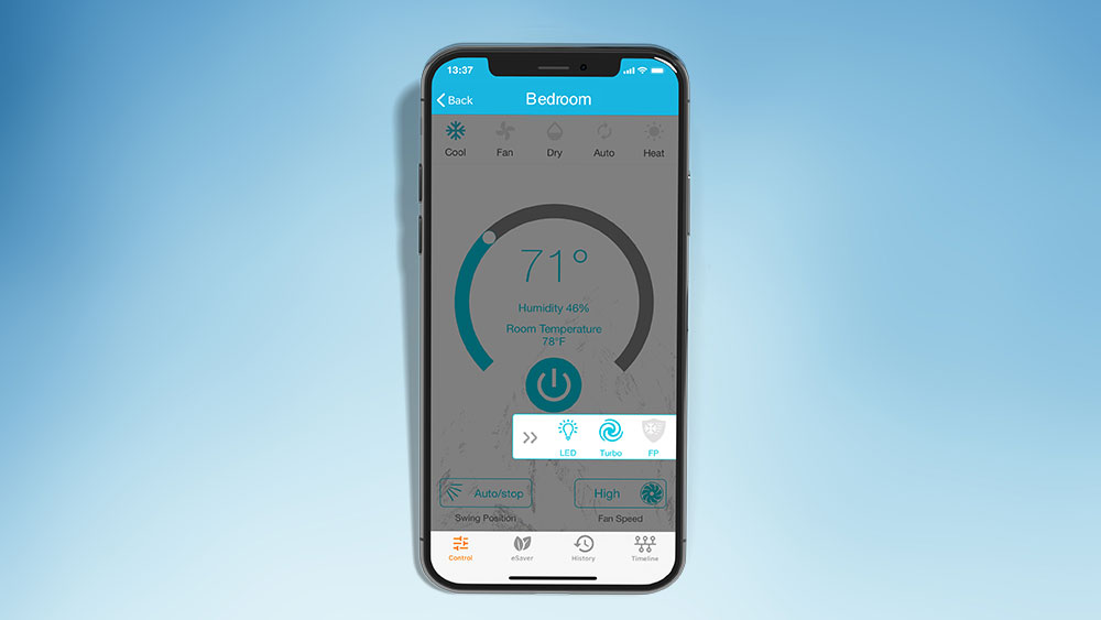 Get instant turbo cooling through Cielo smart AC controllers from your phone.