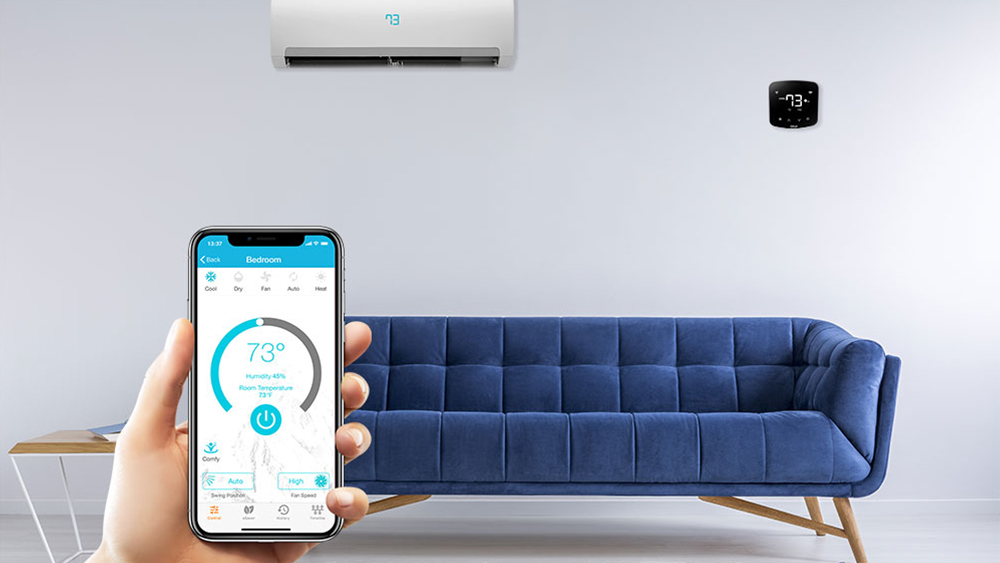 Comfort, convenience, control, and energy saving on air conditioning.