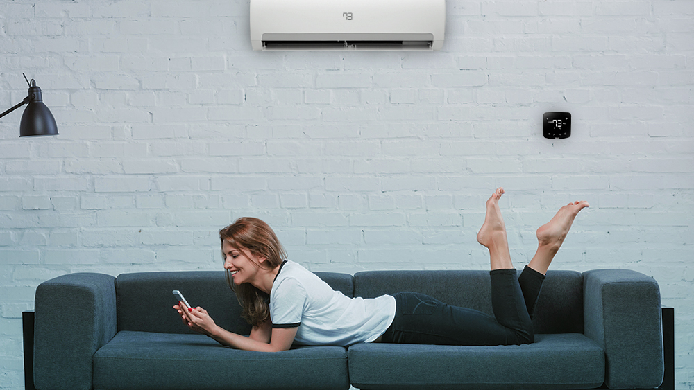 With Cielo Home mobile application, you have a WiFi air conditioner.