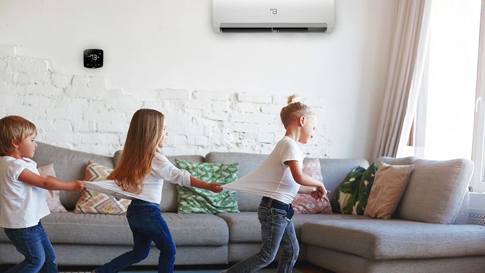 Control your air conditioner with WiFi using Cielo Breez.