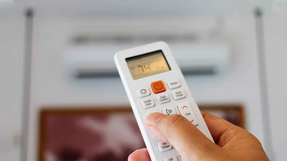 Learn how to set up air conditioner timer.