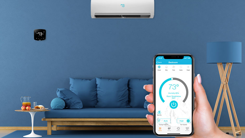 Control your air conditioner with WiFi using Cielo Breez smart AC controller.