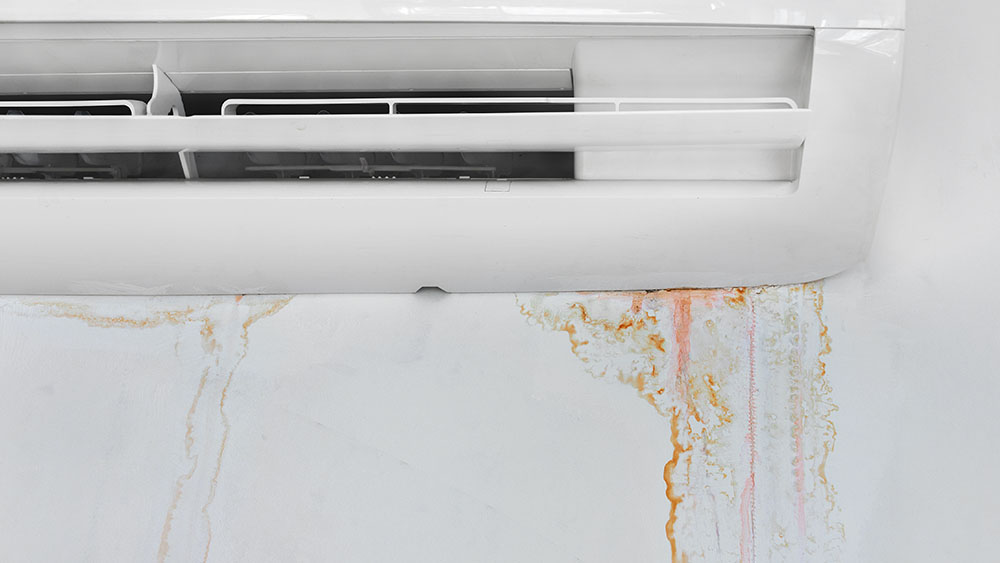 Air conditioner problem like water leakages means maintenance.