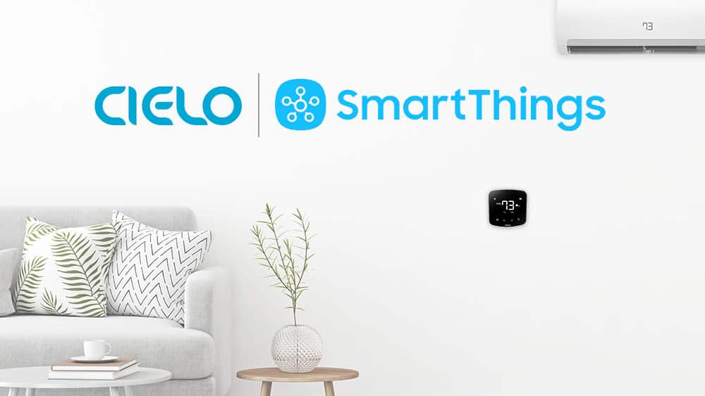 Cielo Breez smart controllers for air conditioners are compatible with Samsung SmartThings