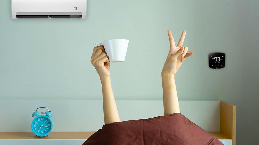 Learn how to achieve ideal sleeping temperature.
