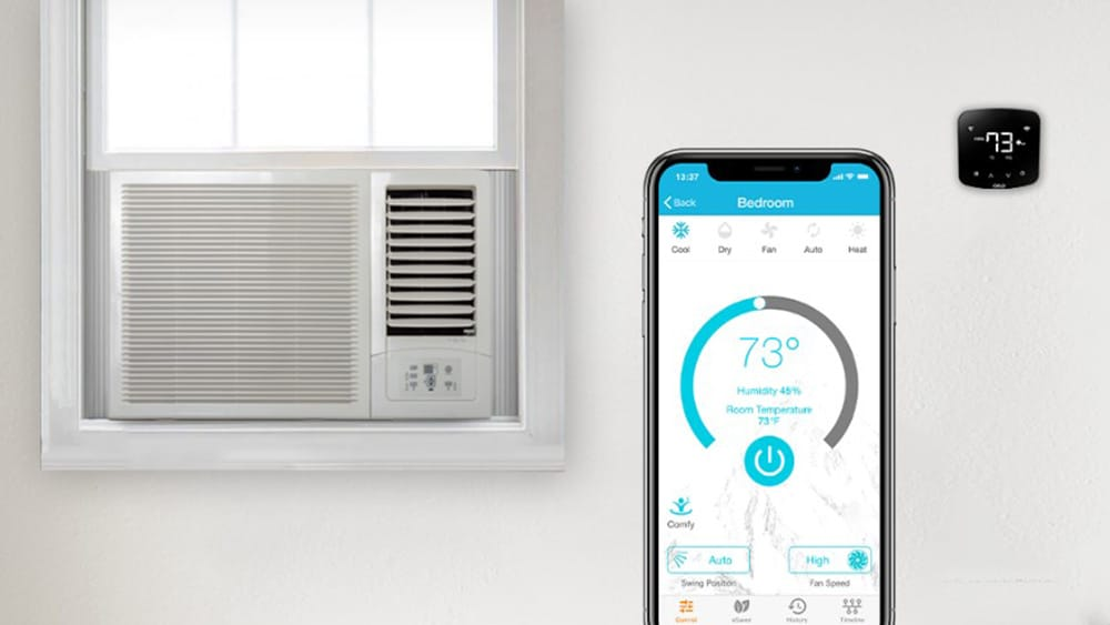 What are window AC thermostats?