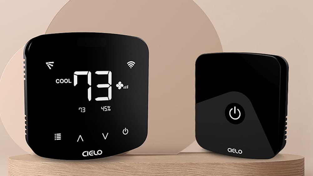 Cielo Breez smart AC controllers give you comfort, control, and convenience with energy saving.