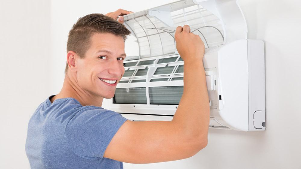 A guide on how to clean air conditioner.