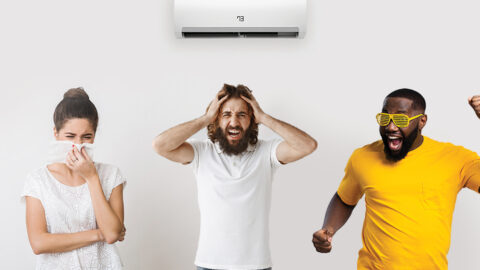 Effect of temperature and air conditioning on mood and health by Cielo Breez.