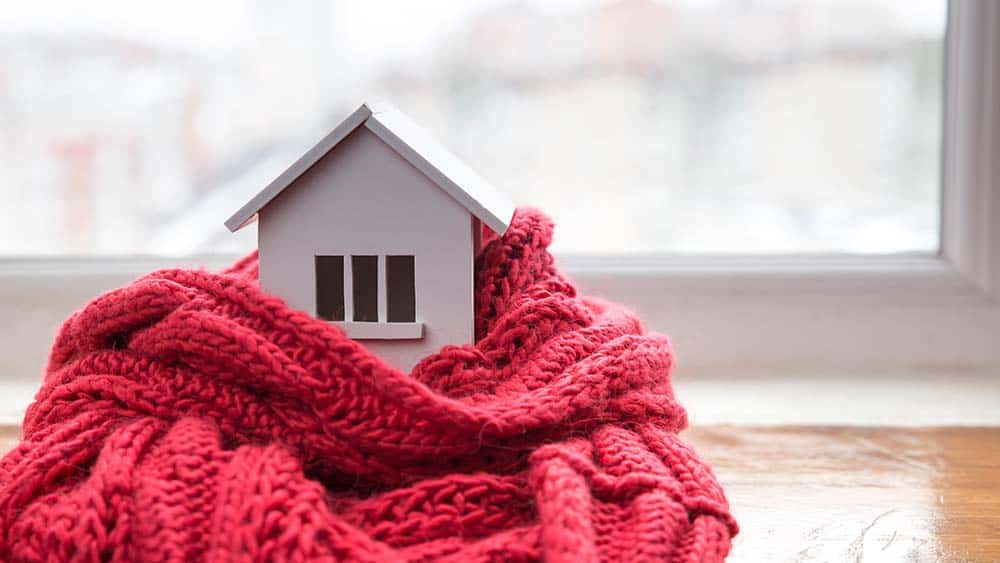 Wall insulation in winter for an answer to how to stay warm in winter.