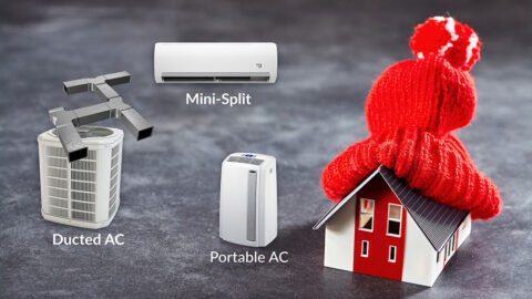 Types of Heat Pumps and how to select the best one for your home.