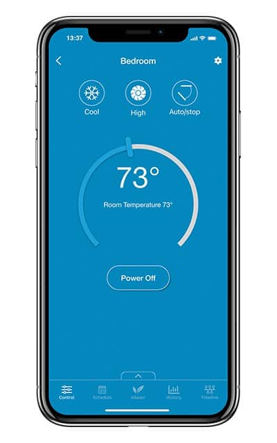 Control your air conditioner remotely with Cielo Breezi.