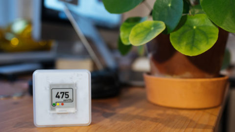 Device to check air quality.
