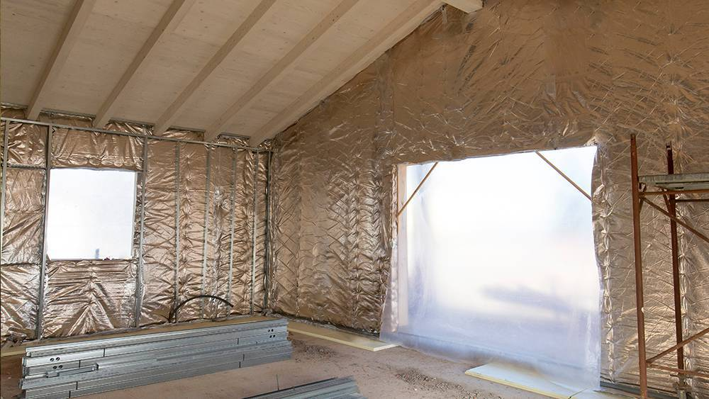Radiant barrier insulation - types of insulation