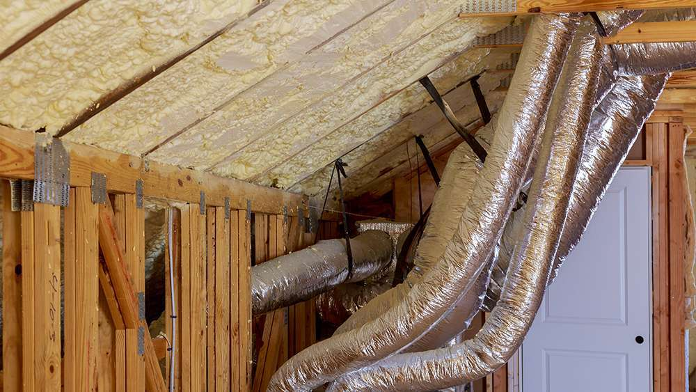 Air conditioner ductwork